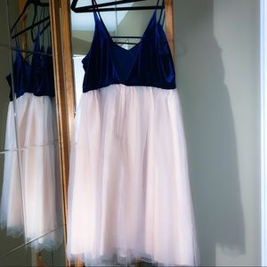 Lauren Conrad Runway Collection Velvet&Tulle Dress